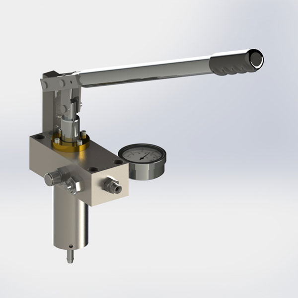 Micropac hand pumps low corrosion