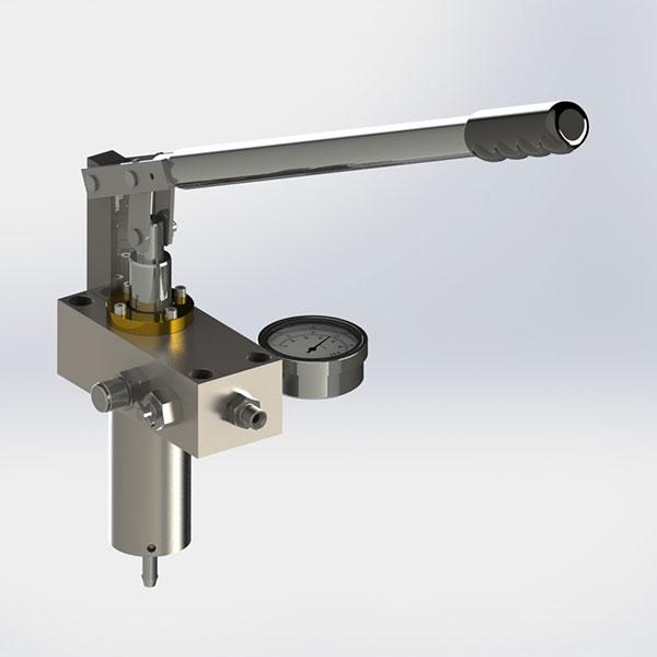 Hydraulic Hand Pump : Manual hydraulic test pumps booksbuckshee