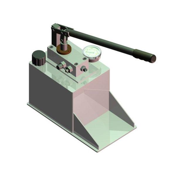 Rugged pressure test hydrotest pumps Hydraulic motor testing