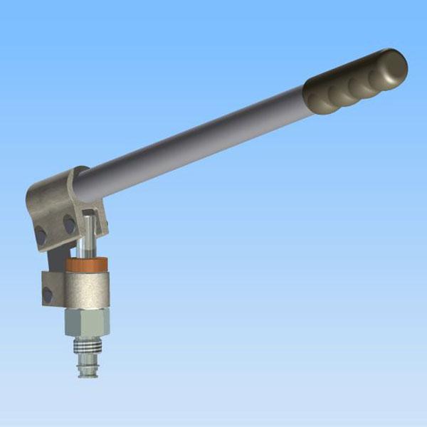 Hydraulic Hand Pump : Hydraulic cartridge hand pumps micropac mt fast fitting