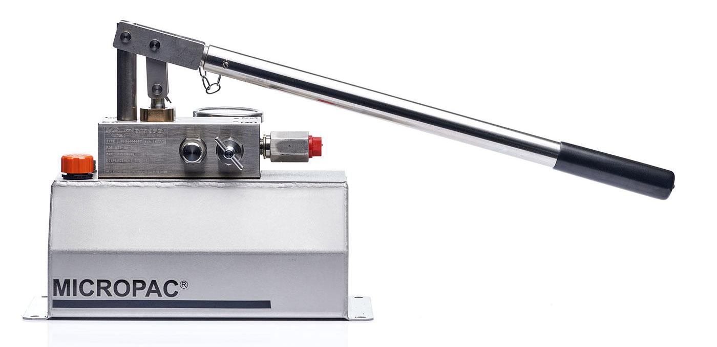 Hydraulic Hand Pump : Offshore hydraulics hand pump bar high pressure