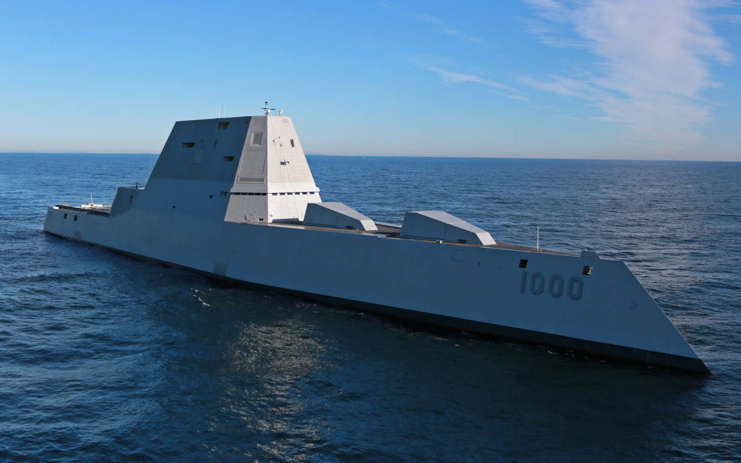 USS Zumwalt image credit: General Dynamics Bath Iron Works CC-BY-SA-2.0