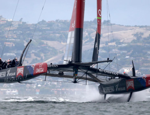 Will pedal power hydraulics triumph in the America's Cup?