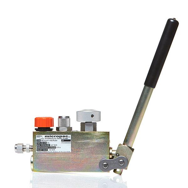 Miniature Hydraulic Motors : Mc miniature hydraulic hand pump