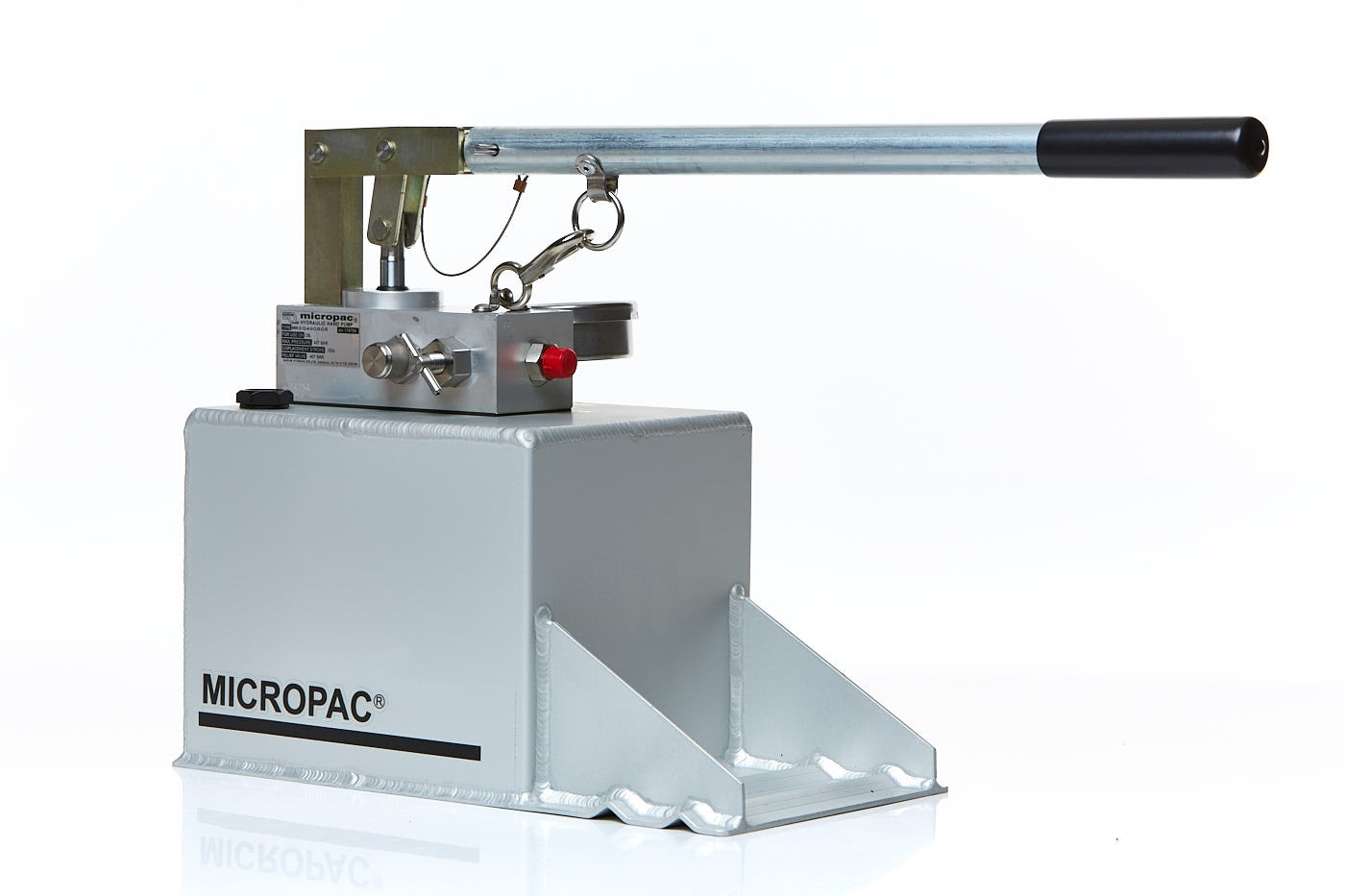 Micropac hydrotest pump