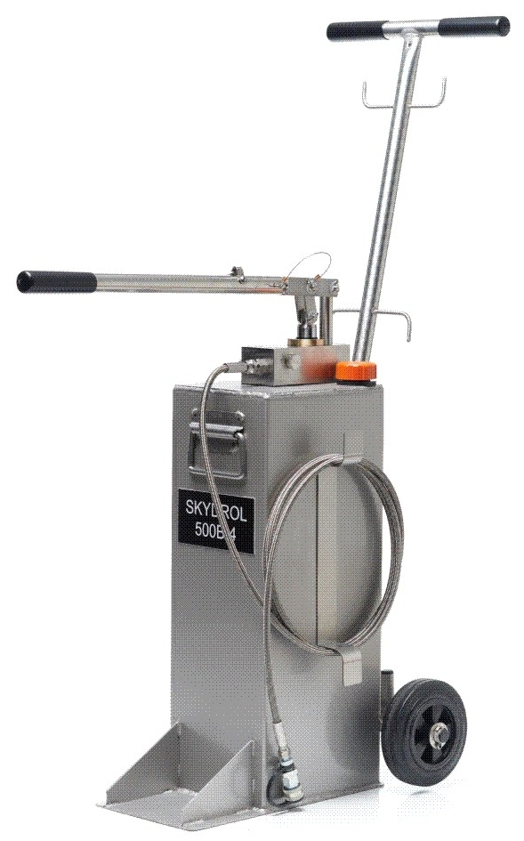 Charging & Filling Hand Pumps Trolley