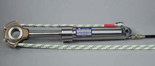 Stainless steel trim cylinder from Cariboni.