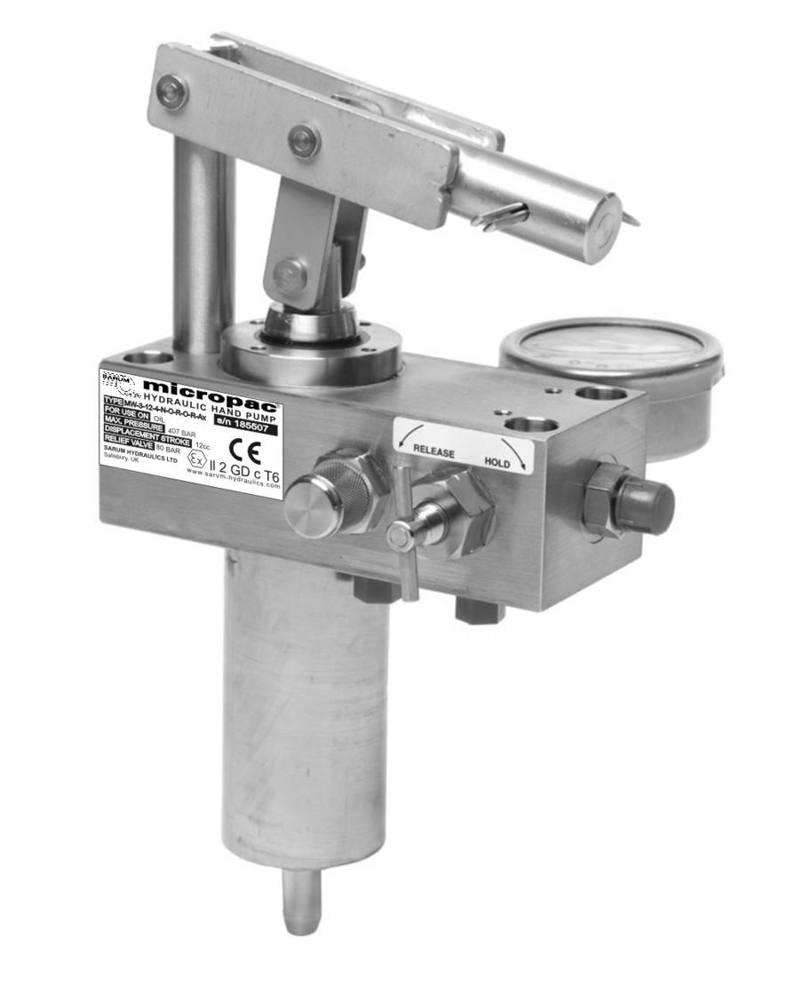 Atex hydraulic hand pump